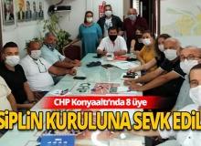 Antalya haber: CHP Konyaaltı'nda 8 üye disiplin kuruluna sevk edildi
