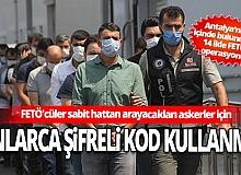 Antalya Haber: 14 ilde FETÖ operasyonu