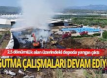 Antalya haber: Çiftlikteki yemler alev alev yandı