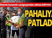 Antalya haber: Motosiklet üzerinde telefona bakınca cezadan kurtulamadı!