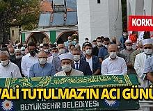 Antalya haber: Vali Tutulmaz'ın babası toprağa verildi