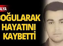 Antalya Konyaaltı Sahili'nde 18 yaşındaki genç boğuldu!