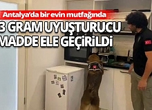 Antalya'da uyuşturucu madde ele geçirildi