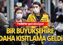 Bursa'da 65 yaş üstü vatandaşların sokağa çıkmasına saat kısıtlaması getirildi