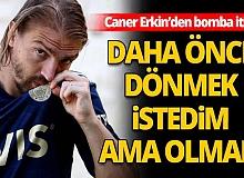 Caner Erkin Fenerbahçe'de
