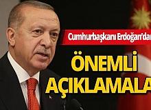 Cumhurbaşkanı Erdoğan: Kalkınmamızı devam ettireceğiz