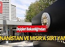 Dışişleri Bakanlığı: Yunanistan ile Mısır arasında imzalanan anlaşma, Türkiye için yok hükmündedir