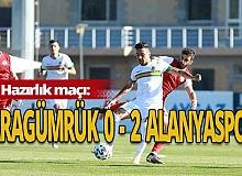 Hazırlık maçı: Karagümrük: 0 - Alanyaspor: 2