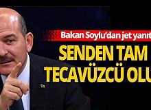 İçişleri Bakanı Süleyman Soylu'dan Atay'a jet yanıt