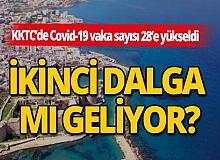 KKTC'de Covid-19 vaka sayısı 28'e yükseldi