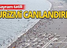 Kurban Bayramı tatili turizmcileri sevindirdi