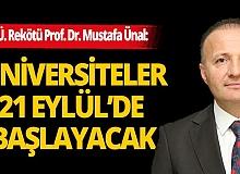 """Prof. Dr. Mustafa Ünal: """"Dünyanın en etkin üniversitesiyiz """""""