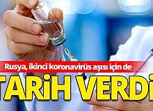Rusya, ikinci koronavirüs aşısı için de tarih verdi
