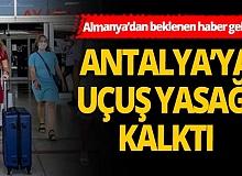 Son Dakika: Almanya, Türkiye'ye uyguladığı seyahat yasağını 4 il için kaldırdı
