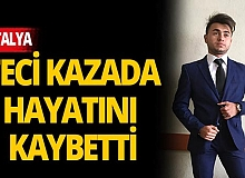Son dakika Antalya haber: Motosikletle otomobil çarpıştı: 1 ölü