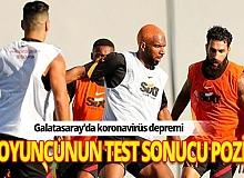 Son Dakika: Galatasaray'da iki futbolcunun koronavirüs testi pozi