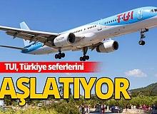 TUI, Almanya'nın 12 kentinden Antalya'ya uçuşları başlatıyor