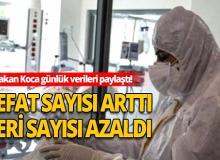 Türkiye'de 8 Ağustos günü koronavirüs nedeniyle 16 kişi vefat etti, 1172 yeni vaka tespit edildi