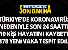 Türkiye'de 5 Ağustos günü koronavirüs kaynaklı 19 can kaybı yaşandı