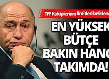 Türkiye Futbol Federasyonu, Süper Lig kulüplerinin harcama limitlerini belirledi