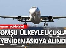Türkiye ile Irak arasındaki uçuşlar yeniden askıya alındı