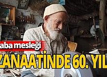 60 yıllık zanaat