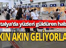 Akın akın Antalya'ya geliyorlar