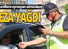 Alanya'da kurallara uymayan sürücülere ceza yağdı