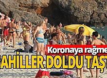 Antalya haber: Alanya sahilleri doldu taştı
