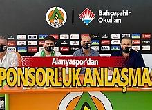 Alanyaspor'dan sponsorluk anlaşması