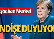 Angela Merkel'in koronavirüs endişesi