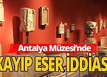 Antalya Müzesi'nde inceleme başlatıldı
