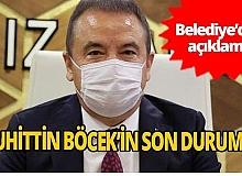 Antalya Büyükşehir Belediyesi'den Başkan Böcek hakkında açıklama
