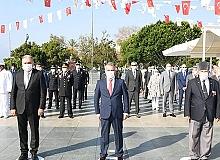 Antalya'da Gaziler Günü Töreni
