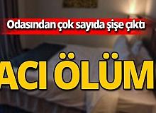Antalya'da otel odasında acı ölüm