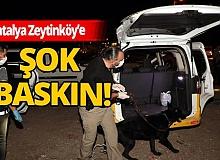 Antalya haber: 250 polisle 'şok' uygulama