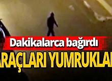 Antalya haber: Alkollü adam araç yumrukladı