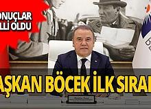 Antalya haber: Anket sonucu açıklandı: Başkan Böcek birinci!