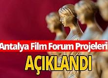 Antalya haber: Antalya Film Forum Projeleri açıklandı
