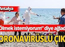 Antalya haber: Antalya Konyaaltı Sahili'nde hareketli dakikalar