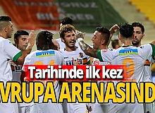 Antalya haber: Aytemiz Alanyaspor ilk kez Avrupa'da
