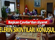 Antalya Haber: Başkan Çavdar'dan makam ziyareti