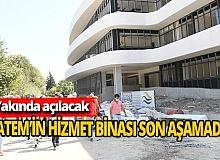 Antalya haber: BATEM'in yeni hizmet binası son aşamada