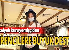 Antalya haber: Bir avuç leblebi ile değişen hayatlar