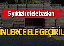 Antalya haber: Büyük operasyon! 9 bin şişe ele geçirildi