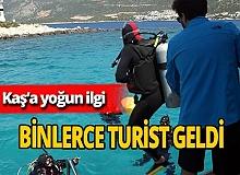 Antalya haber: Dalış tutkunları Kaş'a akın etti