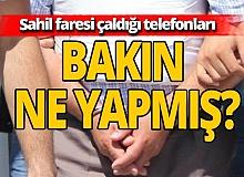 Antalya haber: Denize giren vatandaşın çantasını çalan şüpheli, tutuklandı