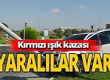 Antalya haber: Duran araca arkadan çarptılar
