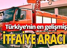 Antalya haber: En gelişmiş itfaiye aracı burada