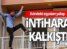 Antalya haber: Eşiyle sorunlar yaşayan adam intihara kalkıştı